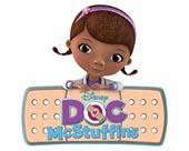 Doc McStuffins, Spielzeugärztin Lizenzartikel und Kinderbekleidung.