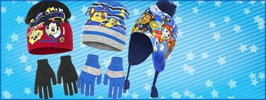 Mutze , Schals , Handschuhe